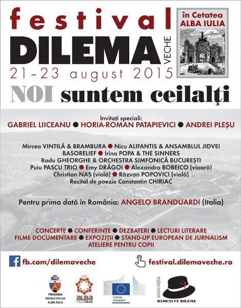 Festival Dilema Veche 23 august a