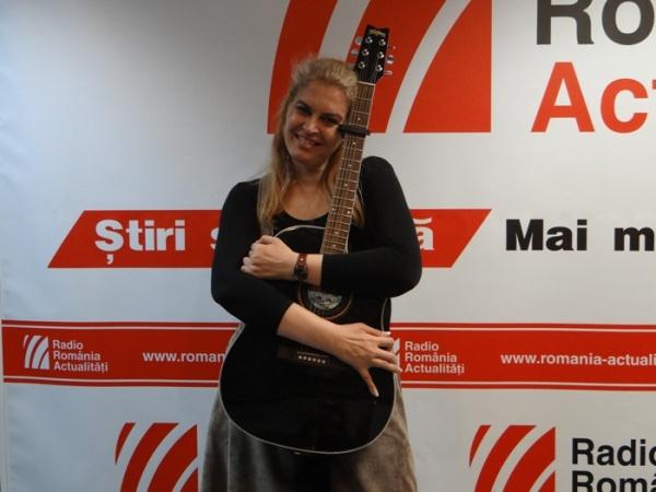 Maria Magdalena Danaila la Radio rOMANIA 2015