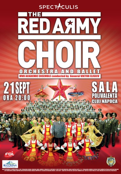 Red Army Cluj 21 septembrie