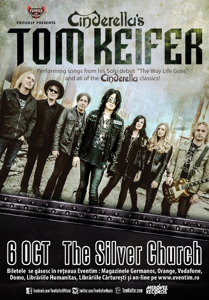 TOM KEIFER 6 octombrie