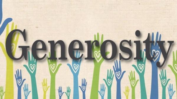 generosity generoziitate