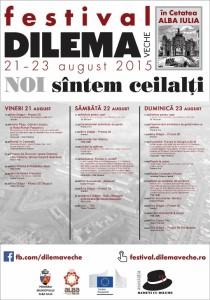 Festival Dilema Veche program 23 august a