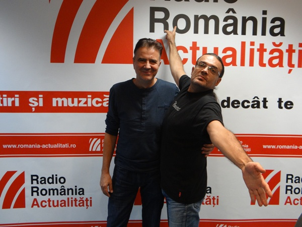 Vali Rotari si Gabi Golescu la Radio Romania 2015