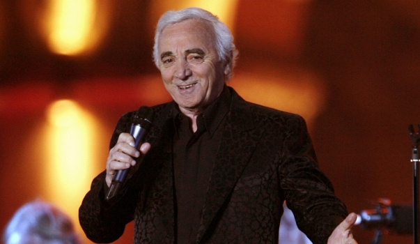 Charles Aznavour a