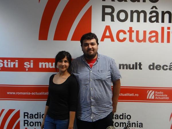 Cosmin Vaman si Alexandra Andrei la RRA