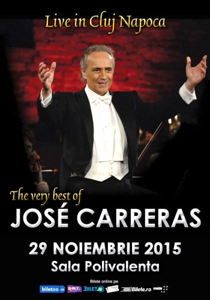 JOSE CARRERAS Cluj 29 noiembrie