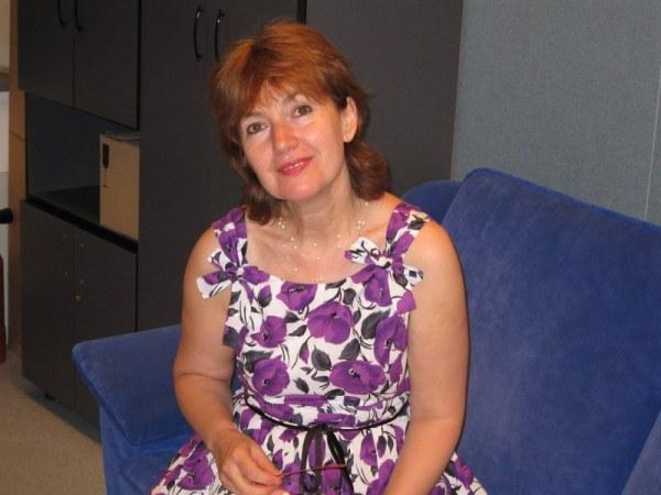 Mihaela Bustuchina Vlaicu la Radio Romania 2008