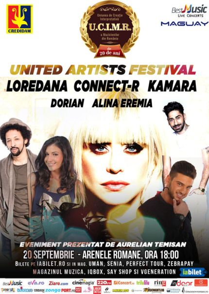 United Artists Festival 20 septembrie a