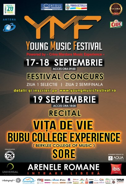 Young Music Festival 19 septembrie