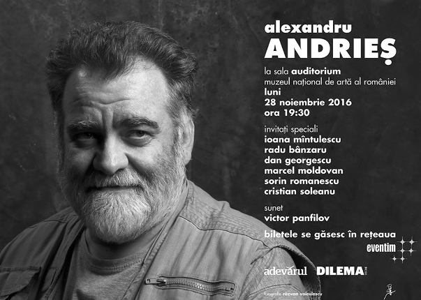 Alexandru Andries 28 noiembrie a