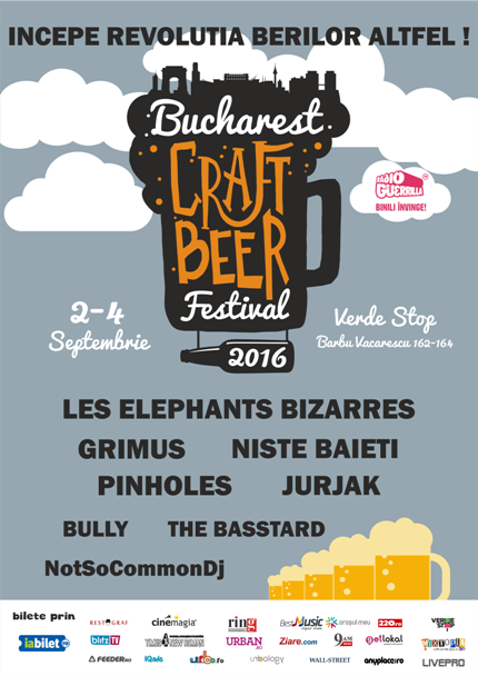 Bucharest Craft Beer Festival 4 septembrie