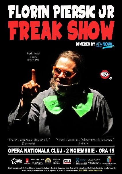 Florin  Piersic Jr Freak_Show_Cluj 2 noiembrie