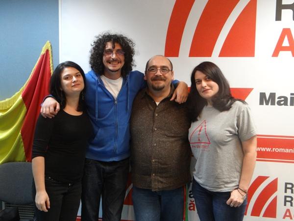 Folk Frate si Alina Manole la Radio Romania