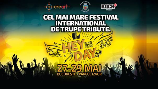 HeyDay Music Festival 29 mai a