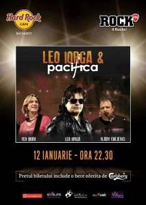 Leo Iorga & Pacifica 12 ianuarie 2018