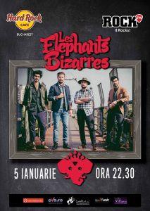 Les Elephants Bizarres 5 ianuarie 2018