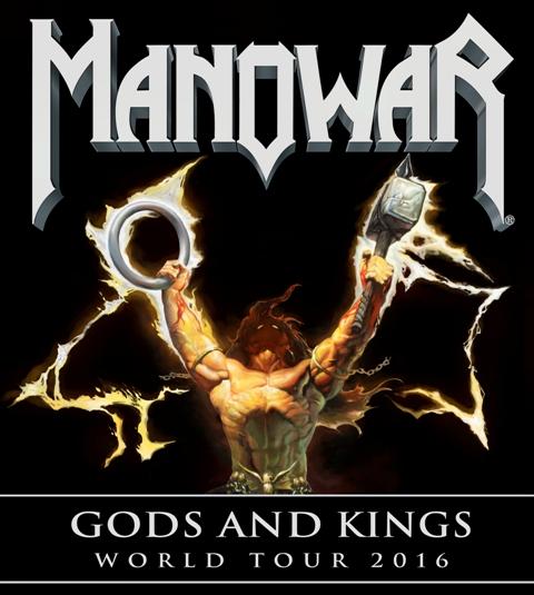 Manowar 2016 tour