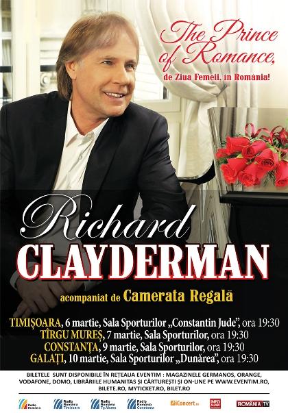 Richard CLAYDERMAN 10 martie