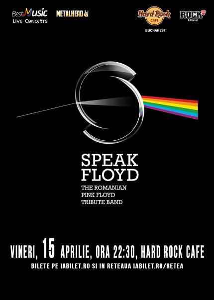 Speak Floyd 15 aprilie
