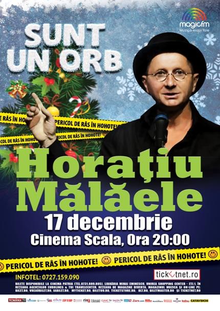 Horatiu Malaele 17 decembrie