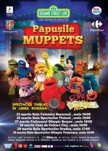 Muppets turneu martie 2016