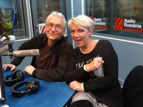 Silvia Dumitrescu si Virgil Popescu la Radio Romania 2015