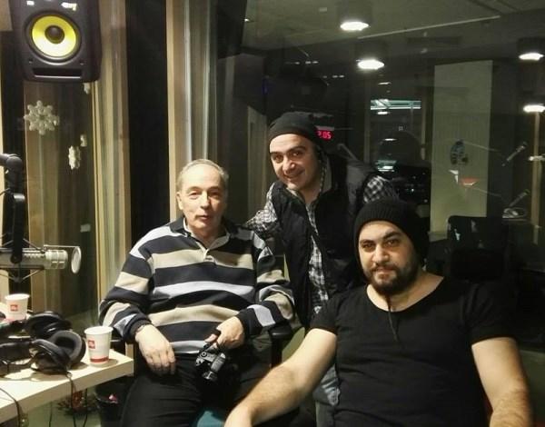 """Andrei Partos Cristi Dumitrascu Alin """"Coiotu"""" Dinca Trooper la Rock FM 14.12.2015"""