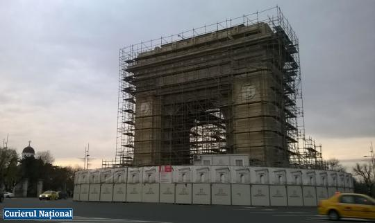 arcul de triumf reparatii