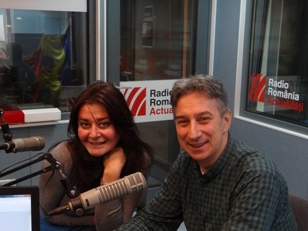 Dana Dragomir si Mihai Bisericanu la Radio Romania 2016