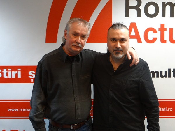 Raul Casrtea si Adi Manolovici la Radio Romania Actualitati 2016