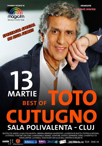 TOTO CUTUGNO Cluj 13 martie