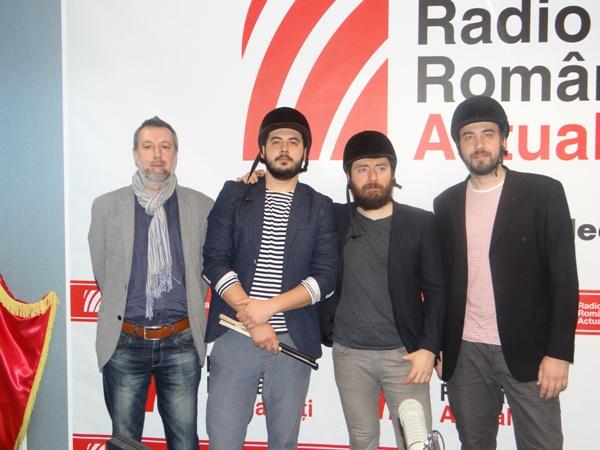 Ernesto Bianchi si Toulouse Lautrec la Radio Romania 2016