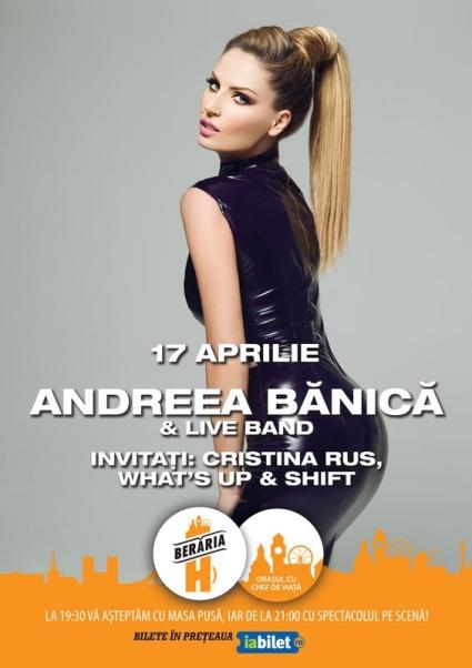 Andreea Banica 17 aprilie a
