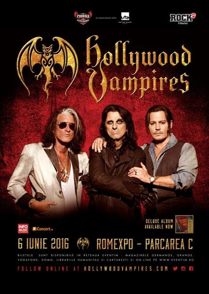 Hollywood Vampires 6 iunie