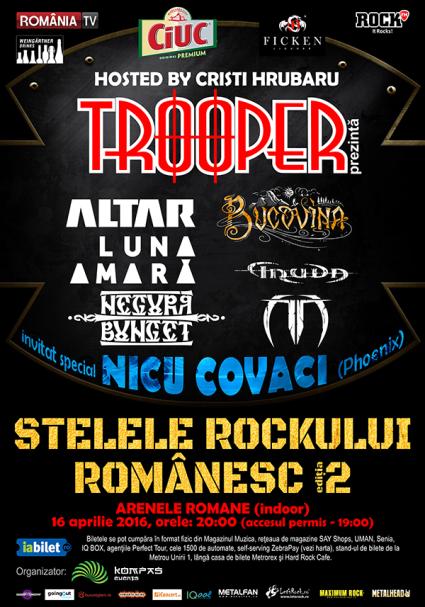 Stelele Rockului Romanesc truda 16 aprilie