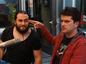 Trooper Alin Dinca si Ionut Radulescu la Radio Romania 2016