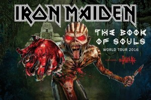 iron maiden The Book Of Souls tour 30 iulie