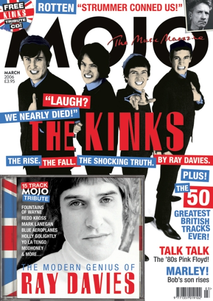 mojo music magazine march 2006 a