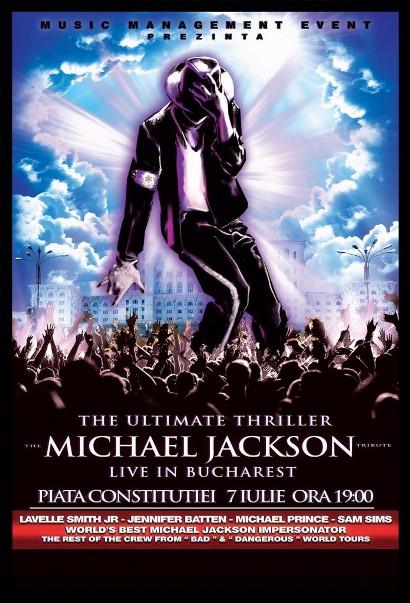 Michael Jackson tribut 7 iulie