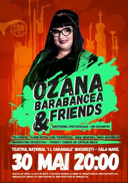 Ozana Barabancea & Friends 30 mai