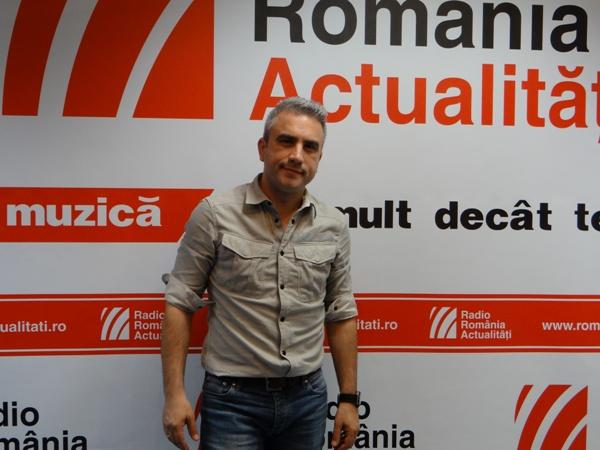 Zoli Toth la Radio Romania 2016