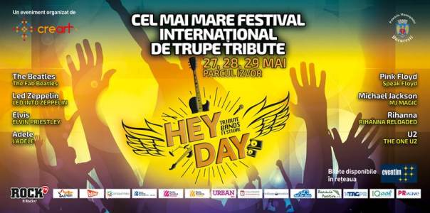 Afis HeyDay 29 mai