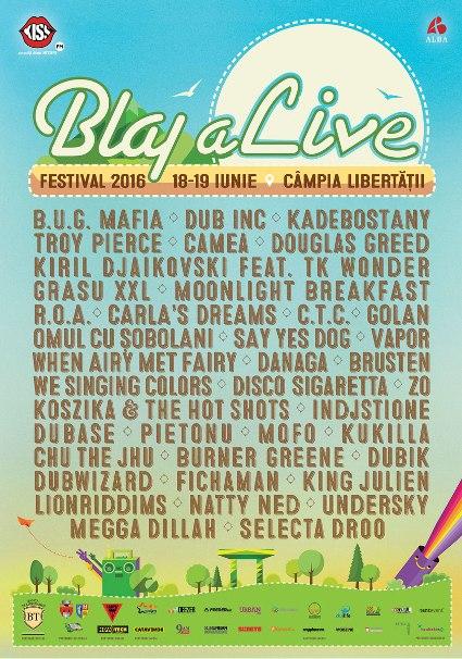 Blaj aLive Festival 18-19 iunie a