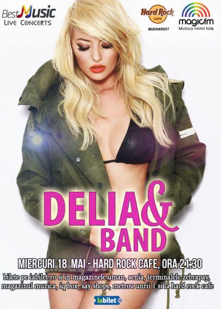 DELIA & Band 18 mai a