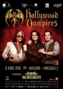 Hollywood Vampires 6 iunie nou a