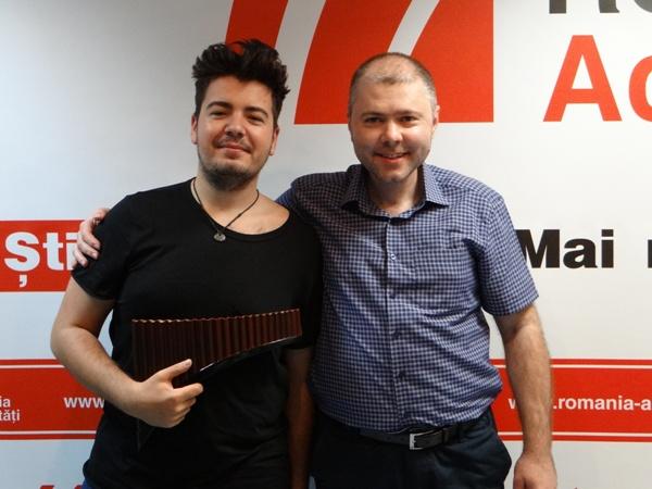 Marius Matache si Cristian Mihai la Radio Romania