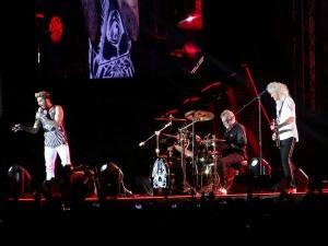 Adam Lambert Brian May si Roger Taylor la Bucuresti