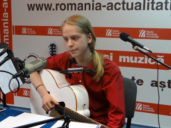 David A Marin live la Radio Romania