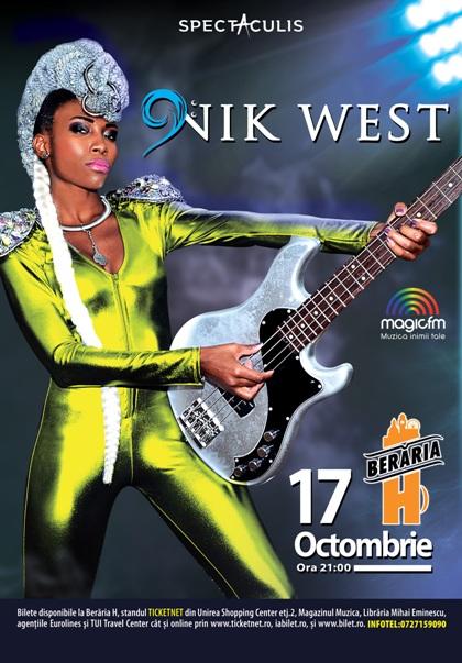Nik West 17 octombrie