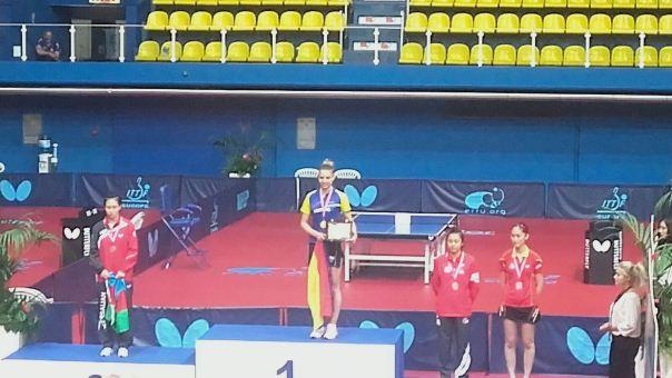 Adina Diaconu campioana europeana a